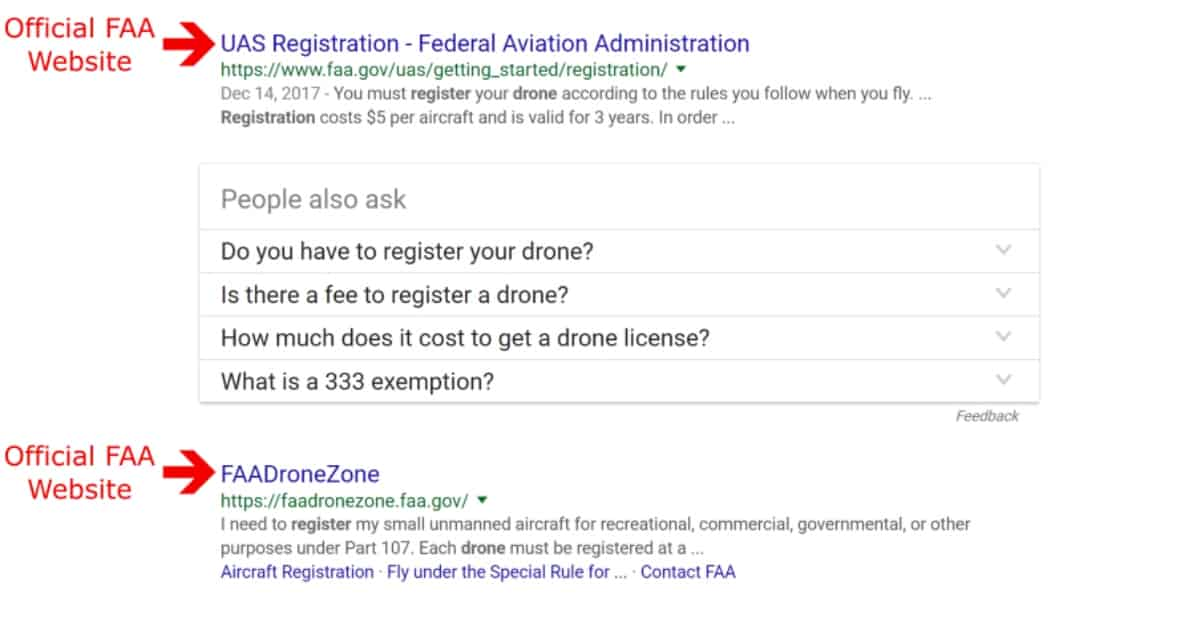 avoid drone registration schemes | how to register your drone ...