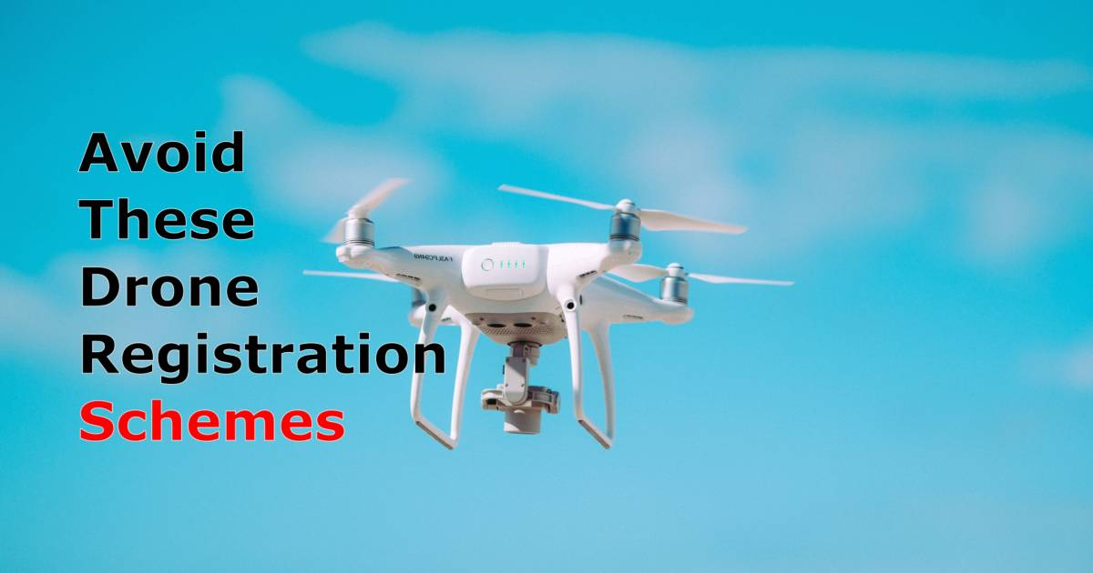 avoid drone registration schemes