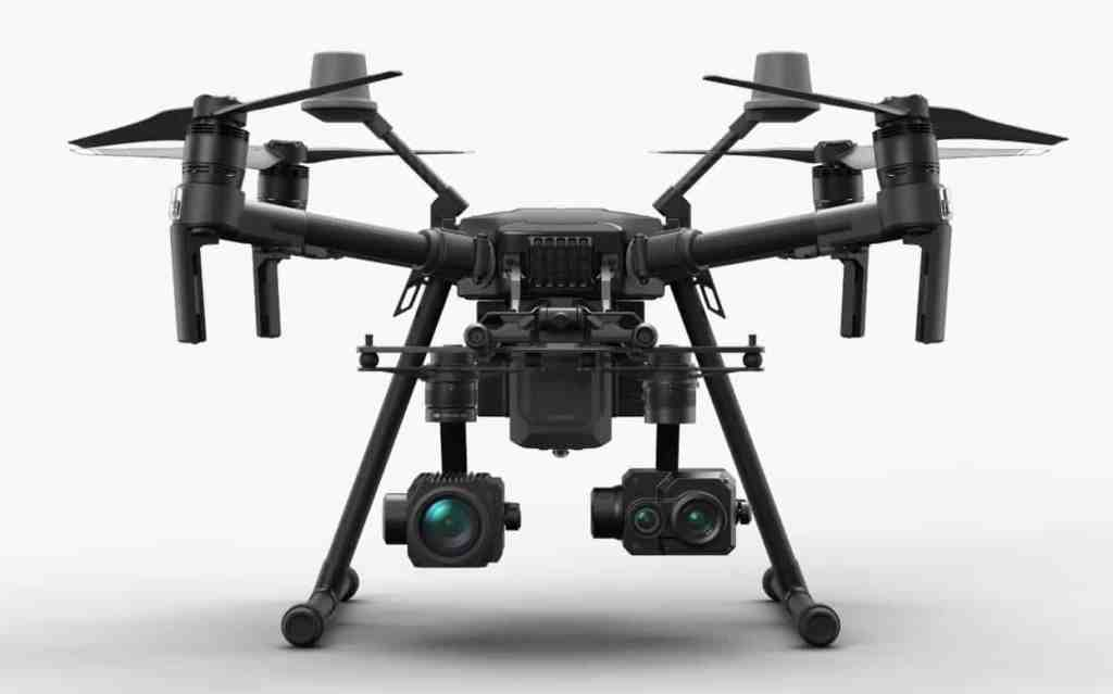 DJI Matrice 210 with FLIR thermal