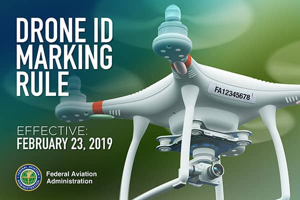 drone marking rule
