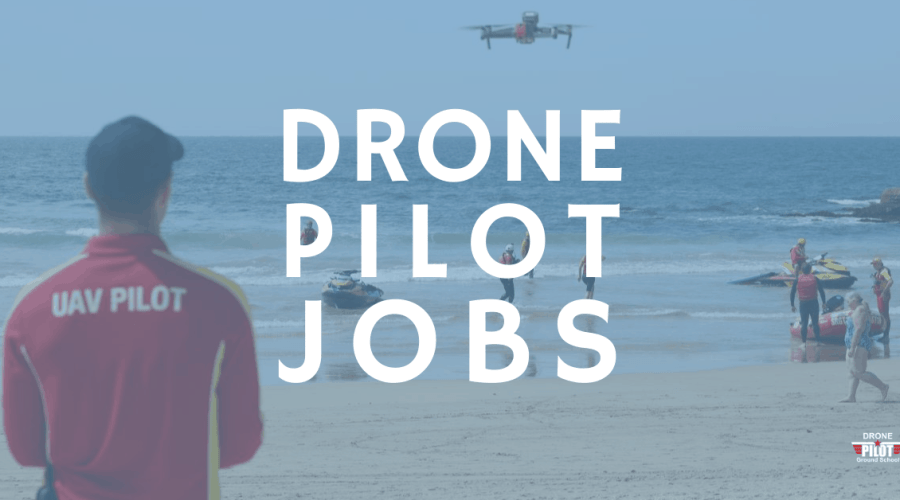 Full time drone pilot jobs and contract work