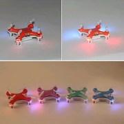 PIXNOR-Cheerson-CX-10-24GHz-4CH-giroscopio-de-6-ejes-Quadcopter-RC-Super-Mini-UFO-Drone-RTF-con-luces-LED-color-naranja-0-11