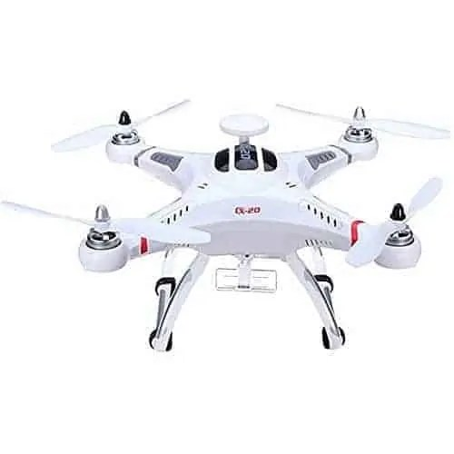 CXHOBBY-CX-20-RTF-Drone-Cuadricptero-RC-24G-4CH-6-Ejes-GPS-MX-Auto-Pathfinder-Autopilot-con-Soporte-para-Gopro-sin-Cmara-Blanco-0-1