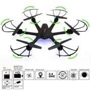Arshiner-MJX-X600-24G-4-Canales-RC-Quadcopter-Drone-Hexacopter-6-Ejes-Gyro-3D-Rollo-de-Retorno-Automtico-sin-Cabeza-Modo-Uno-Volver-Helicptero-Keysin-cmara-Negro-0-4