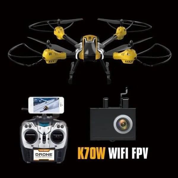 Kaideng K70C, K70T y K70W para GoPro