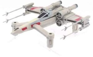 Drones Star Wars; SPEEDER BIKE, X-WING  y TIE ADVANCED X1