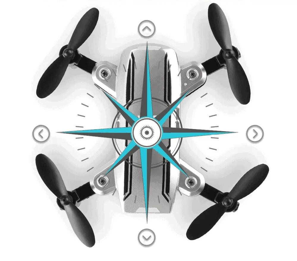 h815 mini drone