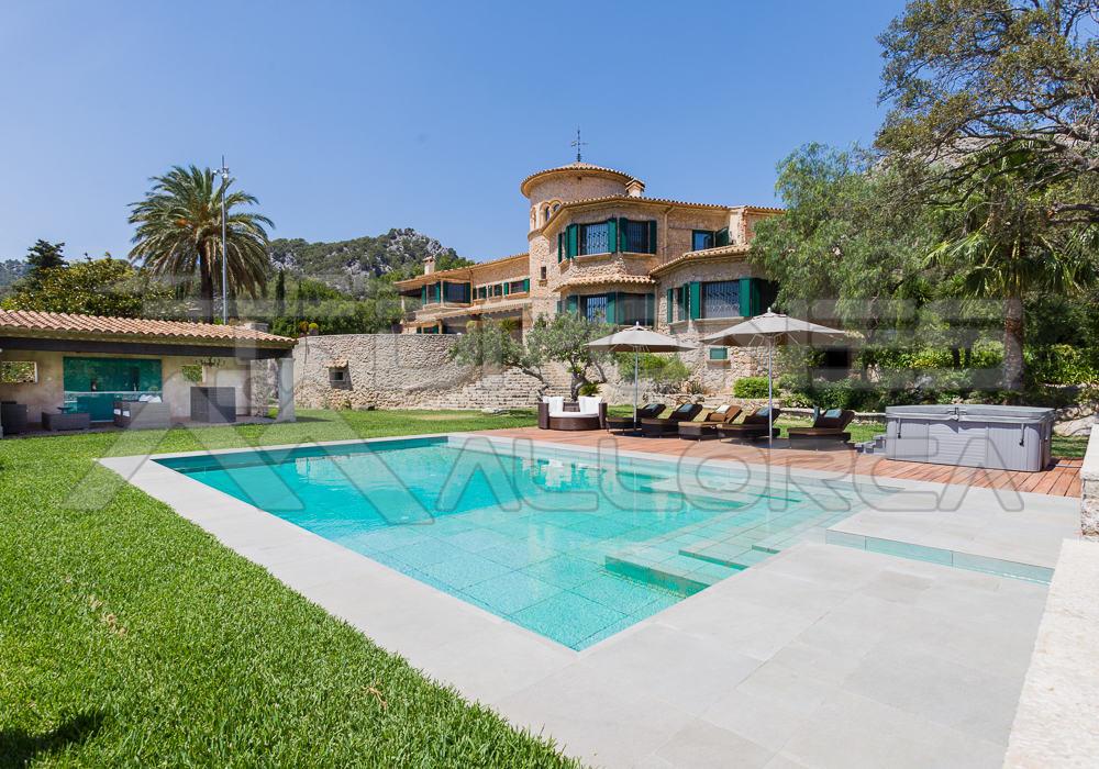 foto piscina chalet