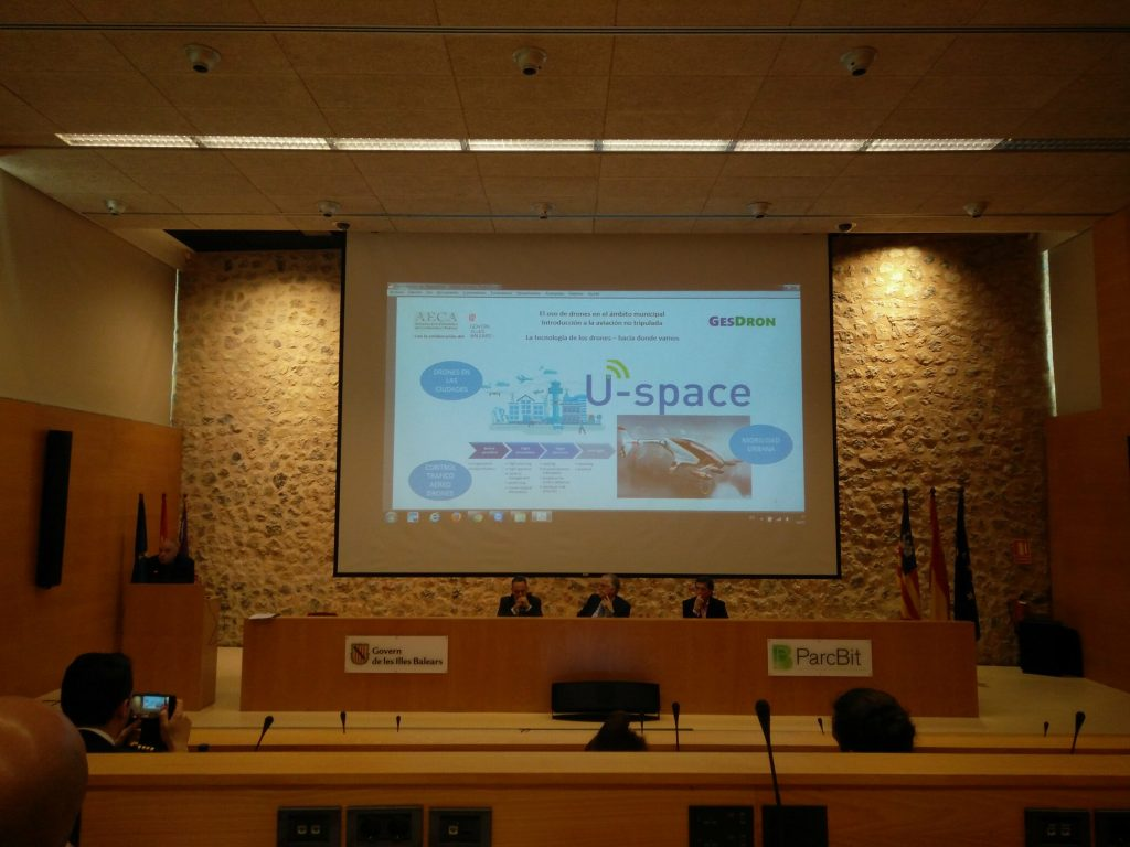 U-space en pantalla