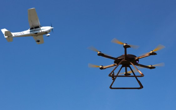 Latest study shows drones pose minimal risk to national airspace
