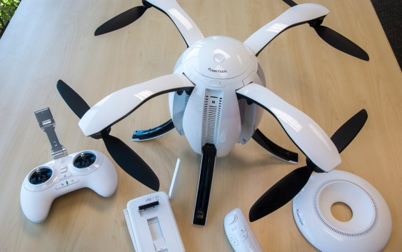 PowerVision officially launch their first consumer drone PowerEgg
