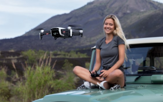 First Look: DJI Introduces Mavic Air, Be Creative With Adventure Photography From Your Pocket,