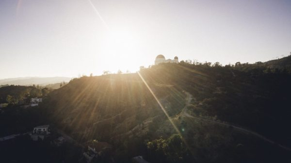 Griffith Observatory, Los Angeles, California, USA ...