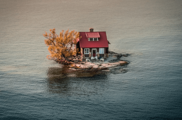 rising waters dronestagram