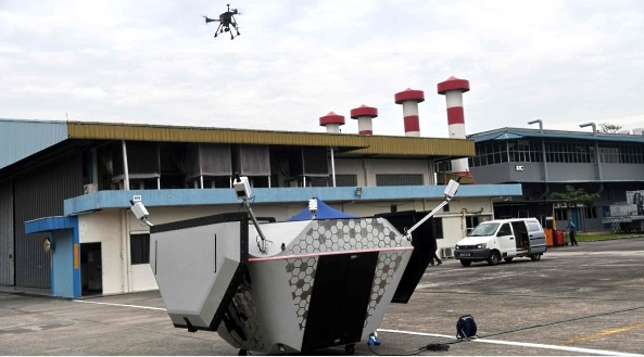 singapore drones for delivery and security