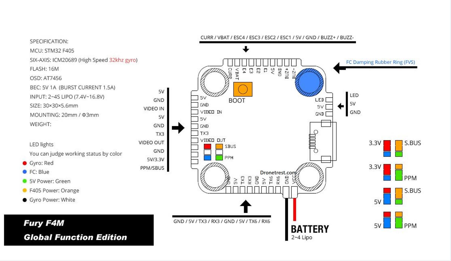Wiring Diagram Vtx Fpv