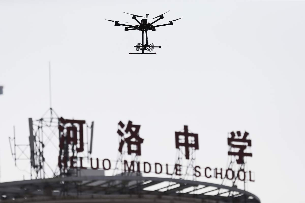 China entrance exam uses drone to prevent student from cheating