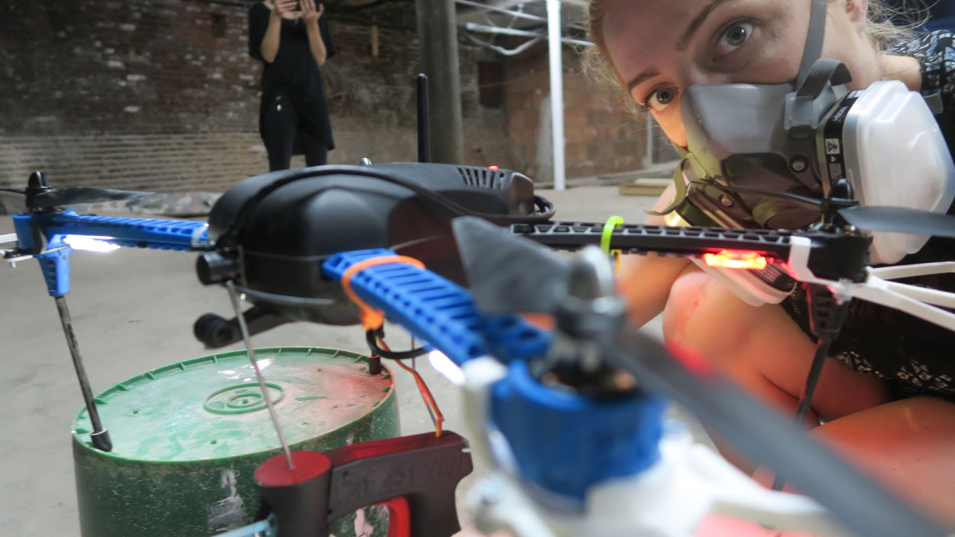 Prototyping a Spray Painting Quadcopter at NEWINC
