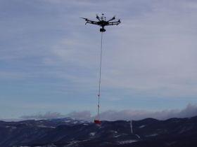 Da Parma un drone per la ricerca dispersi in caso di valanghe