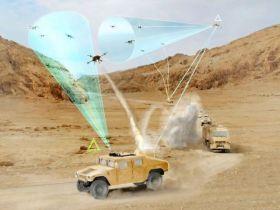 """LA DARPA testa un nuovo sistema antidroni a base di """"stelle filanti"""""""