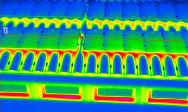 Thermal Image From Heat Vision Camera