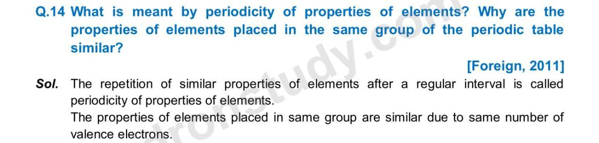 Previous Year Questions - Periodic Classification_08
