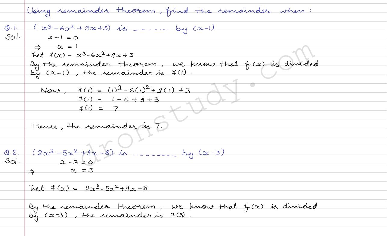 Linear Equations In Two Variables Class 10 Rs Aggarwal Solutions
