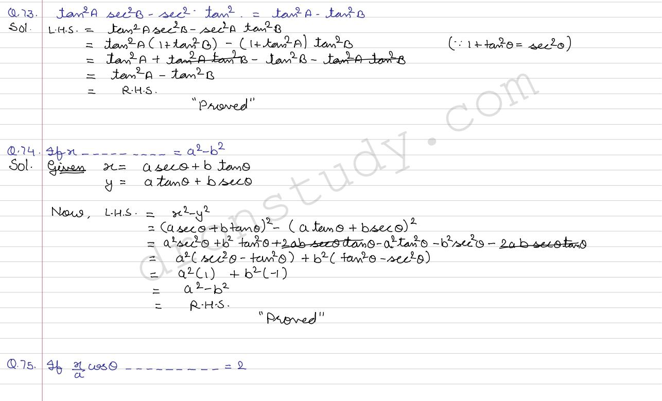 Solutions Of Quadratic Equations Class 10 Rd Sharma