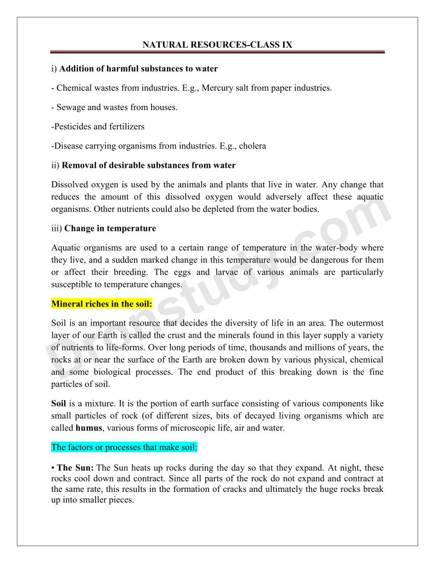 natural resources chapter notes com natural resources chapter notes 1 2 3 4 5 6