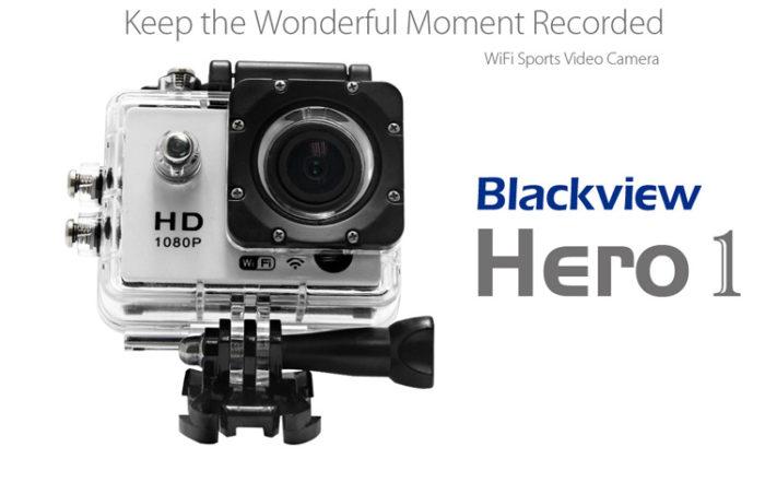 Blackview Hero 1 - akční kamera v předprodeji a se slevou