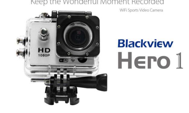 Blackview Hero 1 – akční kamera v předprodeji a se slevou