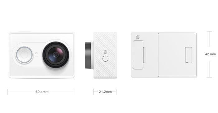 Xiaomi YiCamera - odpověď na outdoorové kamery GoPro
