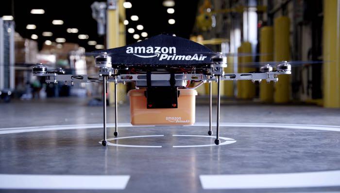 Amazon testuje drony v Kanadě