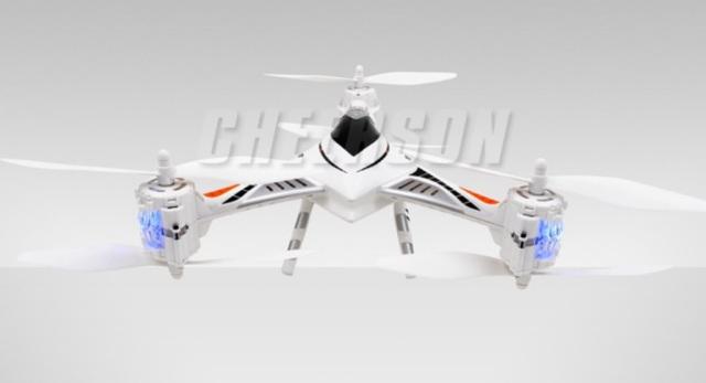 Cheerson CX-33C – Trikoptéra s HD kamerou a barometrem
