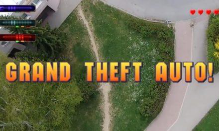 Video: Češi natočili dronem GTA ve Valašském Meziříčí