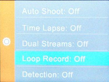 SJCAM_loop record
