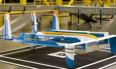 Amazon si patentoval dobíjecí stanice pro drony