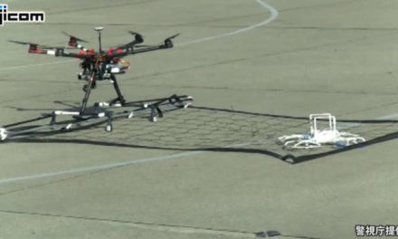 Japonská policie začne lovit drony