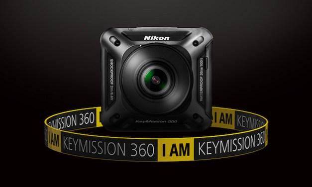 Nikon KeyMission 360 – akční kamera s úhlem záběru 360 stupňů