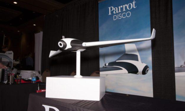 Parrot Disco – dron s výdrží až 45 minut