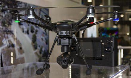 Intel ukázal dron s technologií RealSense