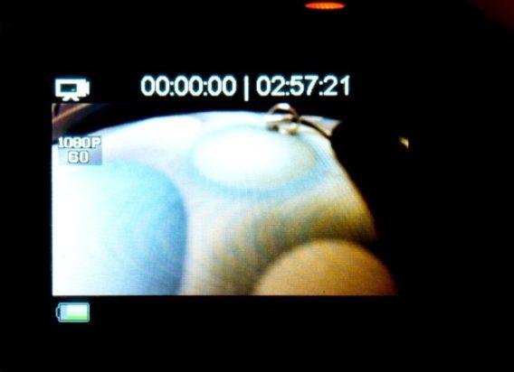 Režim - záznam videa