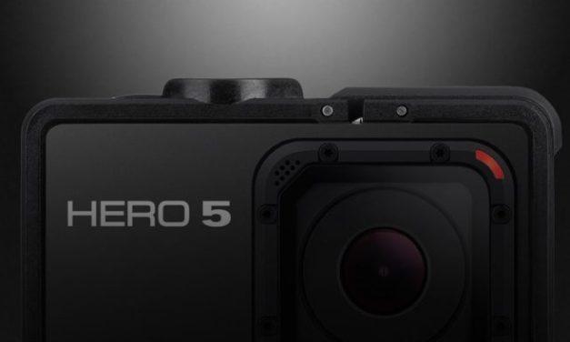 GoPro Hero 5 se blíží – první úniky