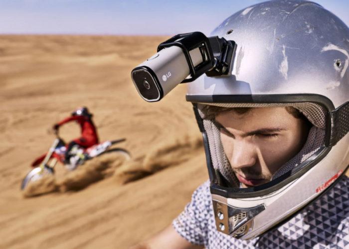 LG Action CAM – 4K kamera s LTE