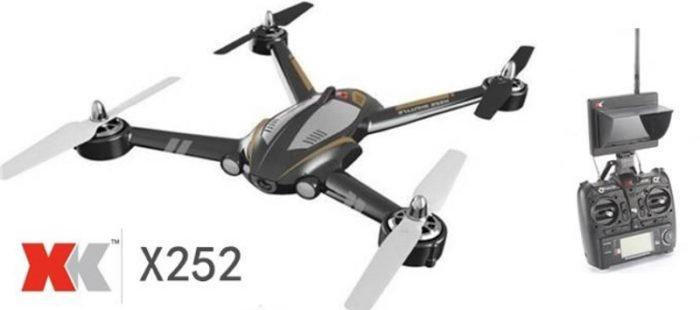 XK X252 – rychlý dron s 5,8 GHz FPV