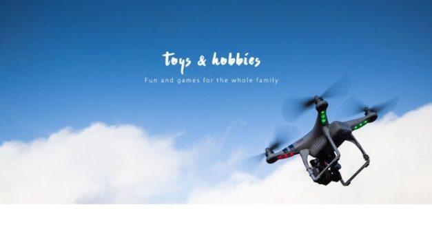 Další drony ve slevě