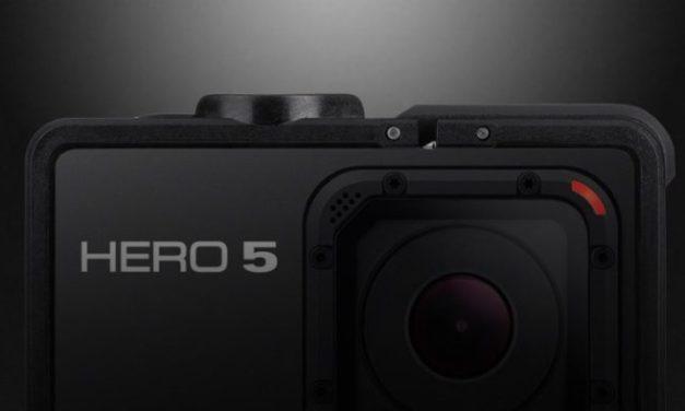 GoPro Hero 5 má mít dotykový displej a GPS