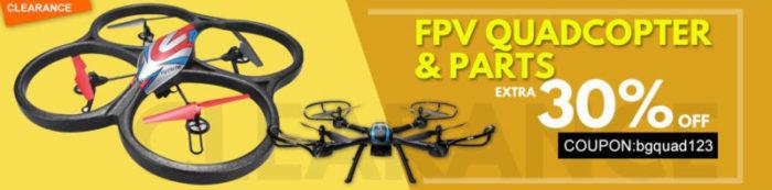 Kdo chce slevové kupóny na drony a příslušenství?