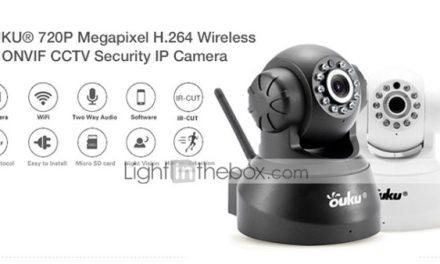 OUKU IP bezpečnostní kamera v prodeji na Lightinthebox