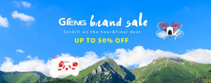 Výprodej dronů producenta GTeng